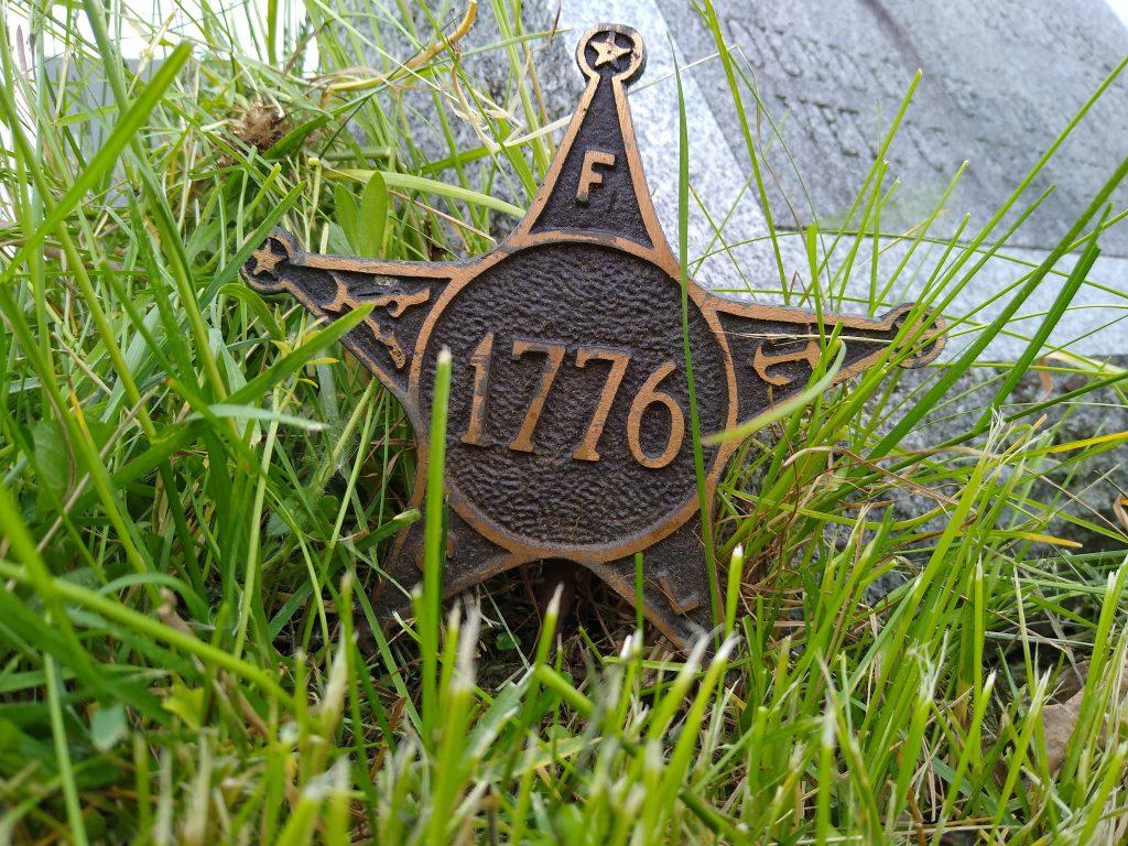 Revolutionary War Veteran Grave Marker
